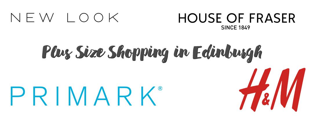 Plus Size shopping i Edinburgh