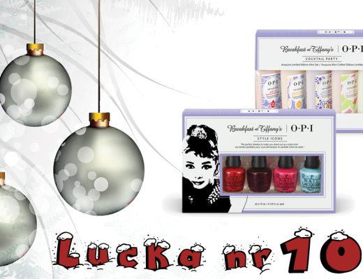 Adventskalender 2016 Lucka 10 – OPI