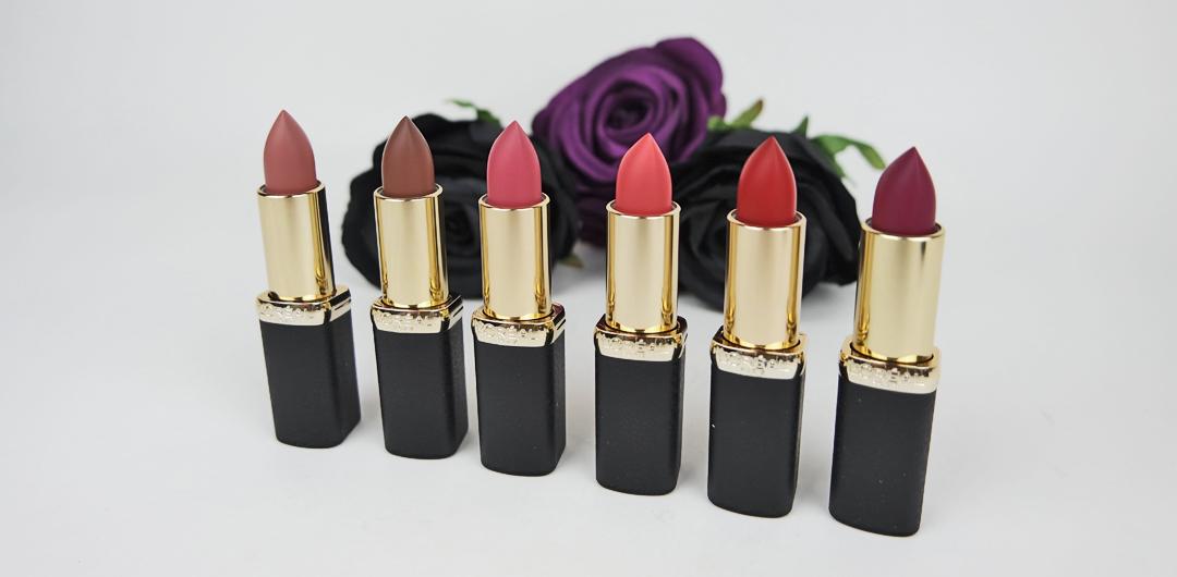 L'oréal Color Riche Matte on our lips