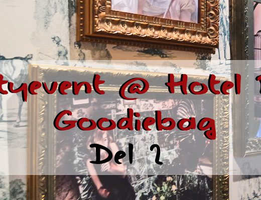 Beautyevent @ Hotel Pigalle: Goodiebag del 2