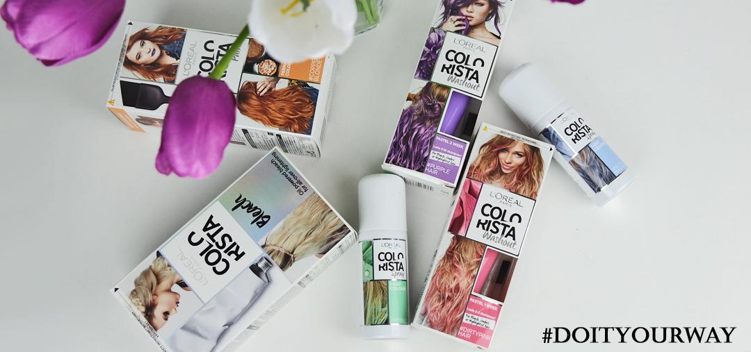 Färgexplosion med L'oréal Colorista