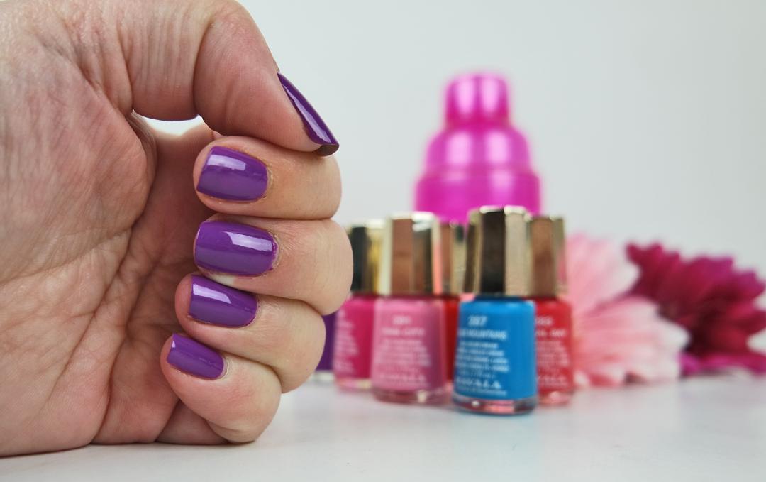Färgglada naglar med Mavala Color Inspiration