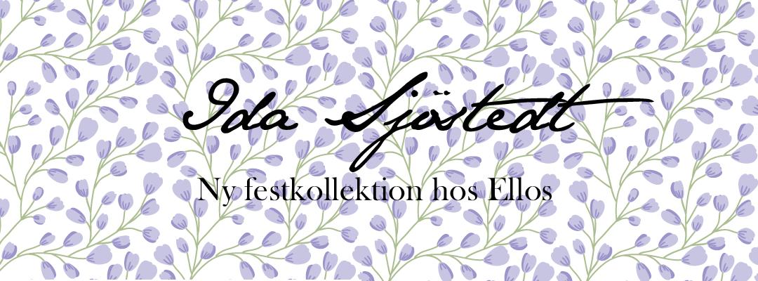 Ida sjöstedt - Ny festkollektion hos Ellos