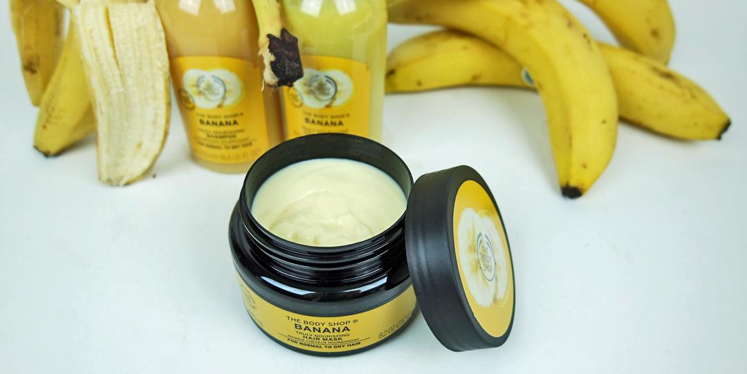 En bananasplit i håret med Banana Truly Nourishing