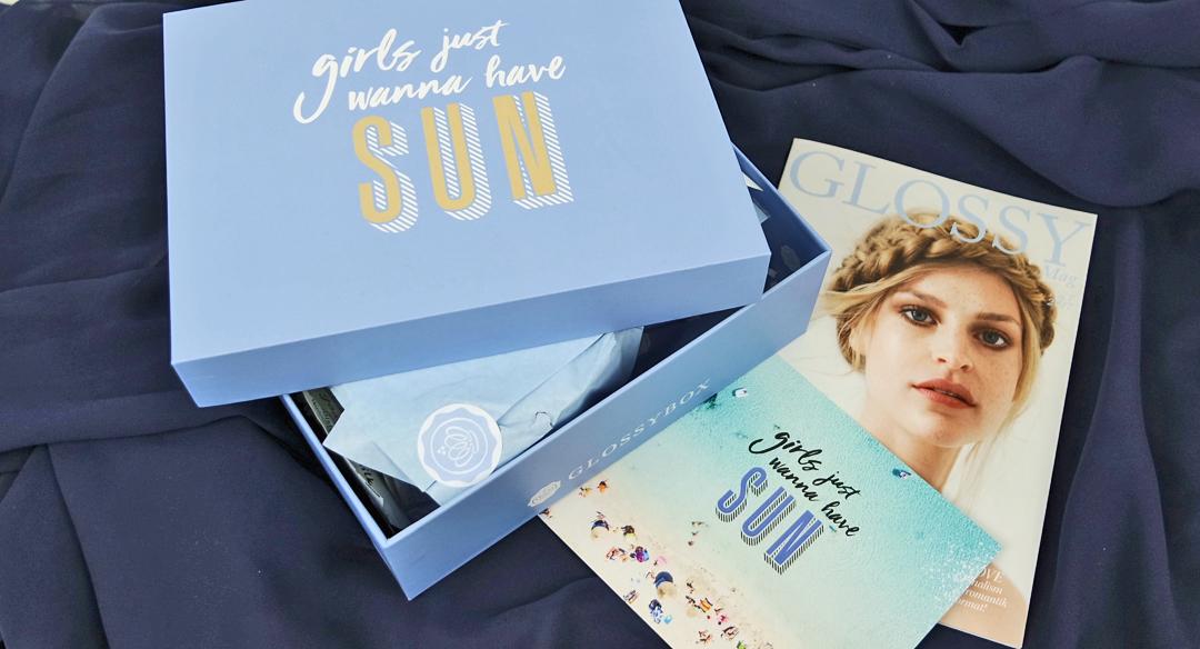 Glossybox - Girls just wanna have Sun