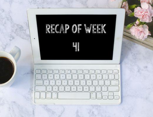 Recap of week 41