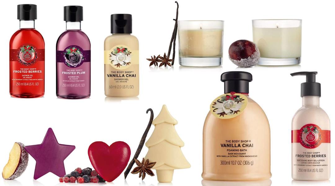 Julvibbar med The Body Shop