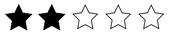 två stjärnor