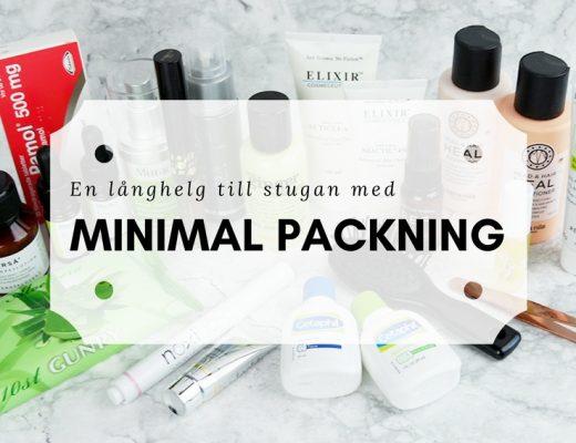 En minimal packning till stugan