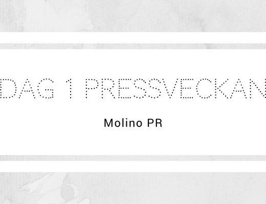 Dag 1 Pressveckan - Molino PR