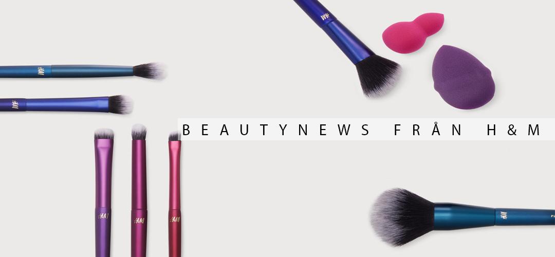 Beautynews från H&M - borstar